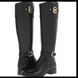 Authentic Michael Kors Stockard Riding Boots
